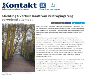 Overtuin in Kontakt 19 feb 2017